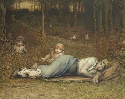 Louis Welden HAWKINS (Esslingen 1849 - Paris 1910)