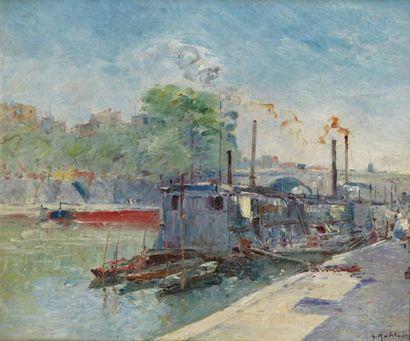 Gustave MADELAIN (Charly 1867 - 1944)