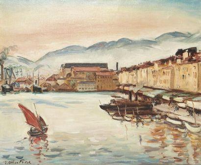 Achille Emile Othon FRIESZ (Le Havre 1879-Paris 1949)