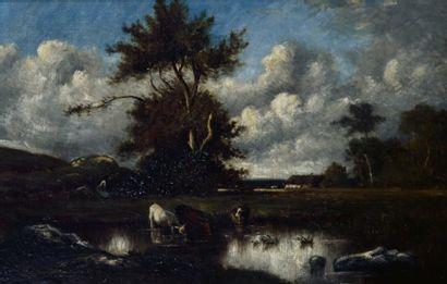 Jules DUPRE (Nantes 1811 - L'Ile Adam 1889)