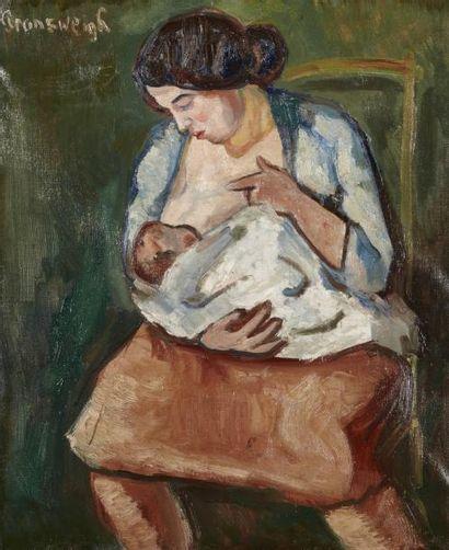 Nathan GRUNSWEIGH (Cracovie 1880 - Déporté en 1943)