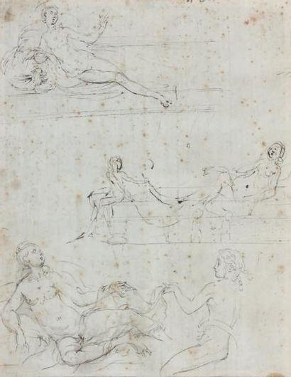Ecole italienne du XVIe siècle, entourage de PARMESAN