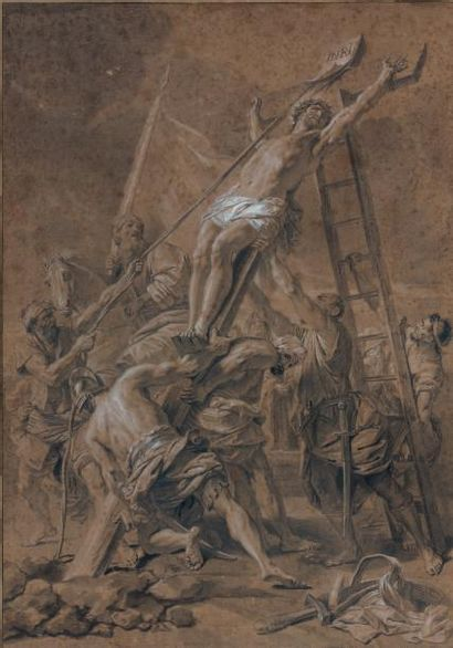 Atelier de Jean JOUVENET (Rouen 1644 - Paris 1717)