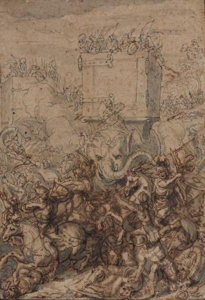 Attribué à Antoine DIEU (Paris 1662 -1727)