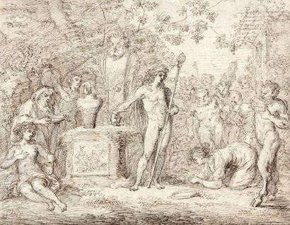 Claude GILLOT (Langres 1673 - Paris 1722)