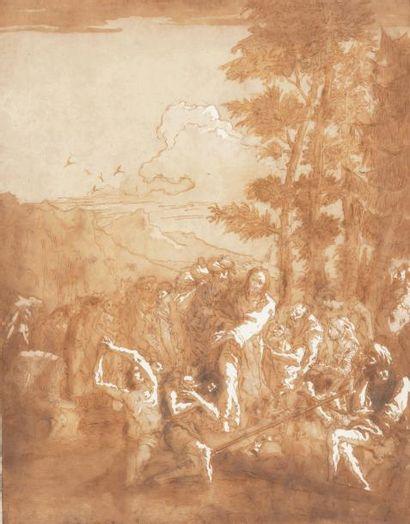 Giovanni Domenico TIEPOLO (Venise 1727-1804)
