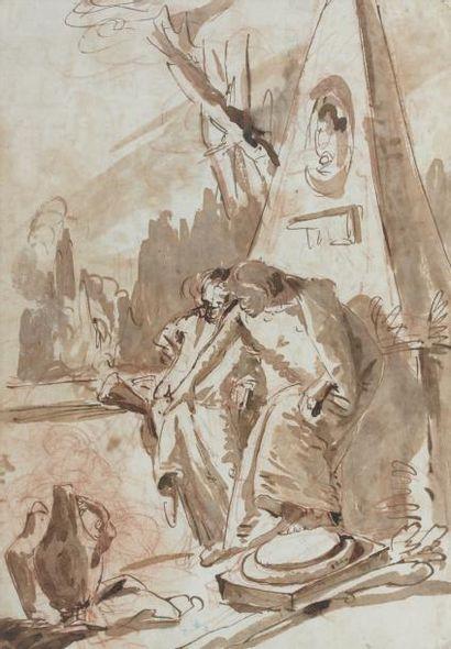 Lorenzo TIEPOLO (Venise 1736 - Madrid 1776)