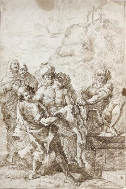 Attribué à Francesco FONT EBASSO (Venise 1709 - 1769)