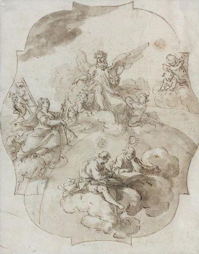 Attribué à Giovanni Battista CROSATO (Venise 1697 - 1758)