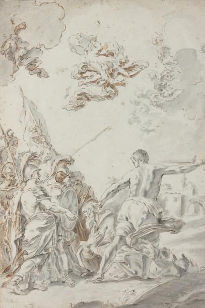 Attribué à Sebastiano CONCA (Lanzi 1679 - Naples 1764)