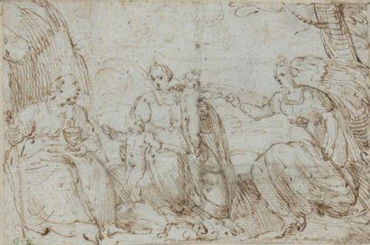 Attribué à Giulio CAMPI (Crémone 1502 - 1572)