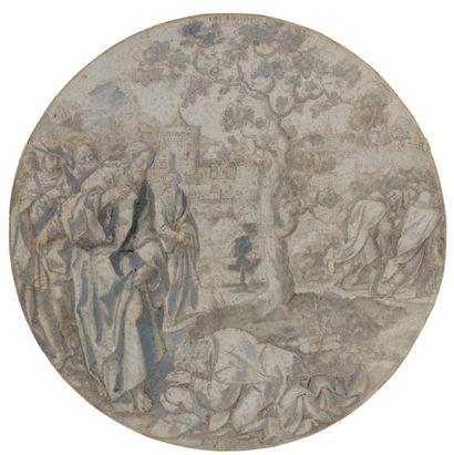 Attribué à Dirck VELLERT (Anvers 1480 - 1547)