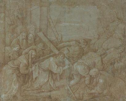 Ecole de Jacopo da Ponte dit BASS ANO (Bassano 1515 - 1592)