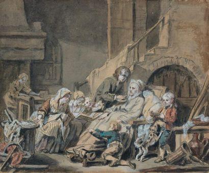 Jean Baptiste GREUZE (Tournus 1725 - Paris 1805)