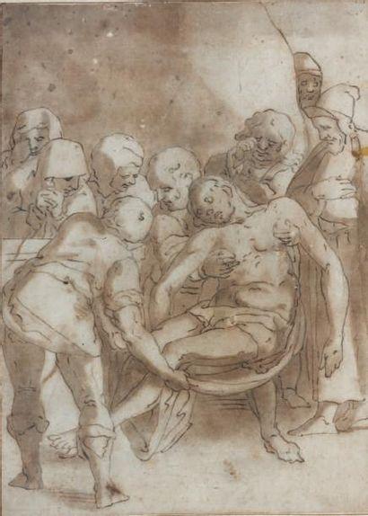 Ecole de Luca CAMBIASO (Moneglia 1527 - Madrid 1585)