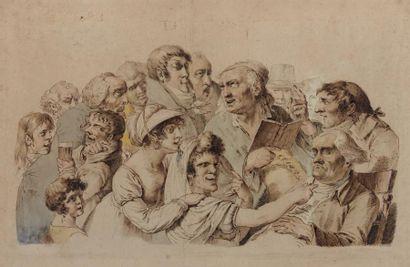 PIERRE ALEXANDRE WILLE DIT WILLE FILS (PARIS 1748 - 1821) Commentaires de lecture...