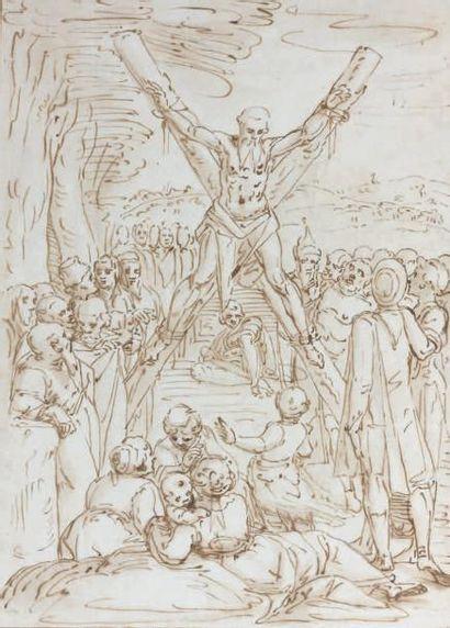 Attribué à Giovanni Battista CASTELLO dit Il Genovese (Gênes 1547 - 1637)