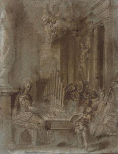 Attribué à Prospero FONTANA (Bologne 1512 - 1576)