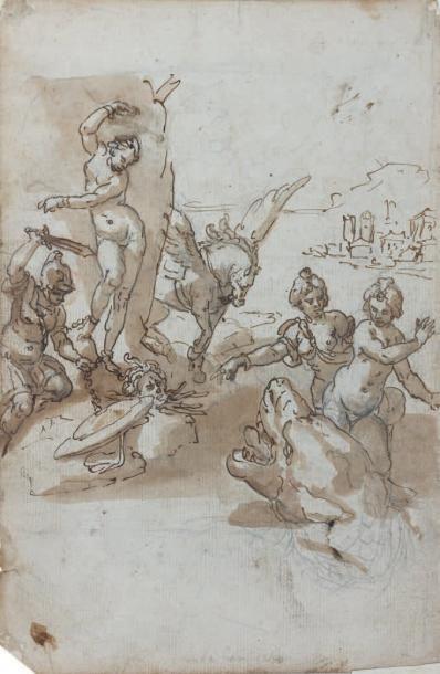 Attribué à Bernardo CASTELLO (Gênes 1557 - 1629)