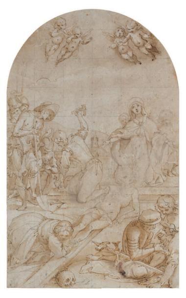 ATTRIBUÉ À FRANCESCO VANNI (Sienne 1563 - 1610)