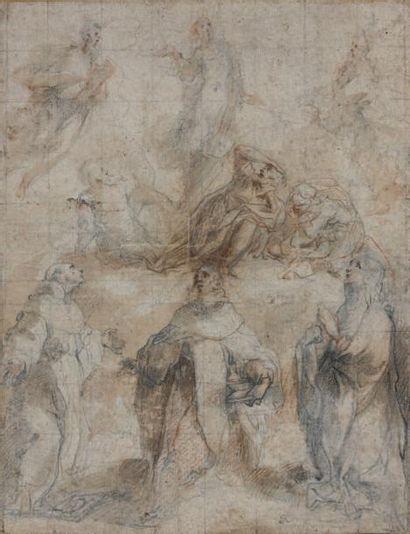 Francesco VANNI (Sienne 1563 - 1610)