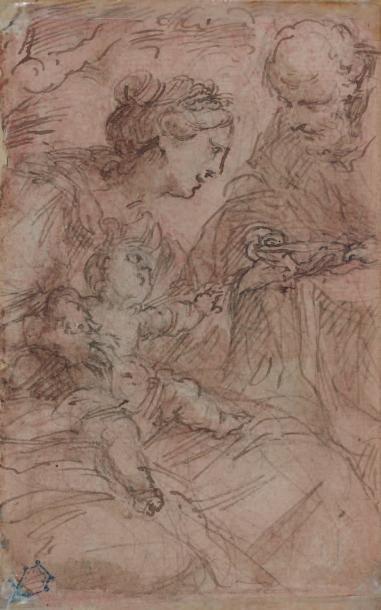 Attribué à Giulio Cesare PROCCACINI (Bologne 1574 - Milan 1625)