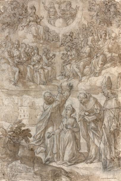 Alessandro TURCHI dit l'Orbetto (Vérone 1578 - Rome 1649)