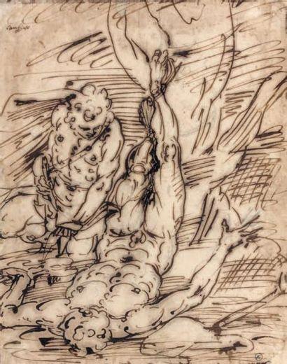 Attribué à Giulio BENSO (Pieve del Tecco 1592 - 1668)