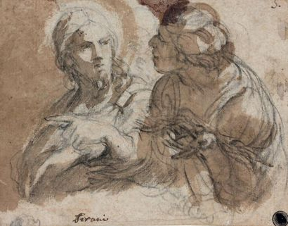 Giovanni Andrea SIRANI (Bologne 1610 - Forli 1670)