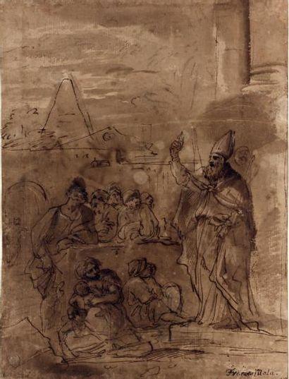 Pietro Francesco MOLA (Caldrerio 1612 - Rome 1666)