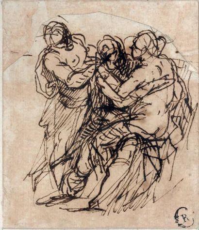 Attribué à Salvator ROSA (Arenella 1615 - Rome 1673)