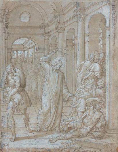 Attribué à Bernardino CAMPI (Crémone 1522 - Reggio 1590/1592)