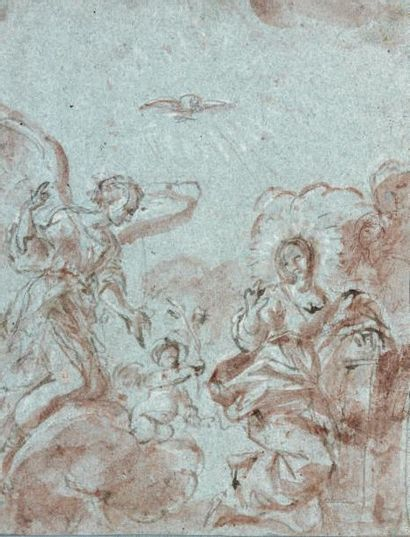 Attribué à Giovanni Angelo CANINI (Rome 1617 - 1666)