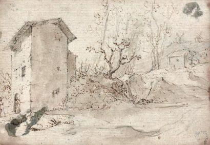 Attribué à Salvador ROSA (Arenella 1615 - Rome 1673)