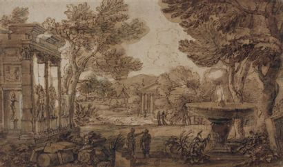 Attribué à Jean LEMAIRE-POUSSIN (1598 - 1659)