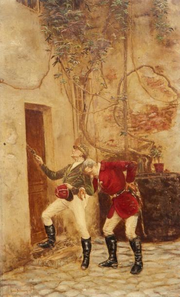 Etienne-Prosper BERNE-BELLECOURT (1838-1910)