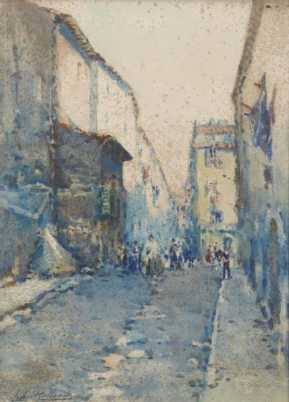 Gilbert GALLAND (Lyon 1870 - Alger 1956)