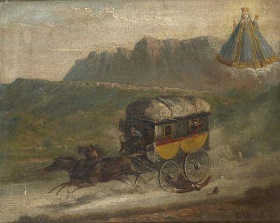 Joseph VILLEVIELLE (Aix en Provence 1829 - 1916)