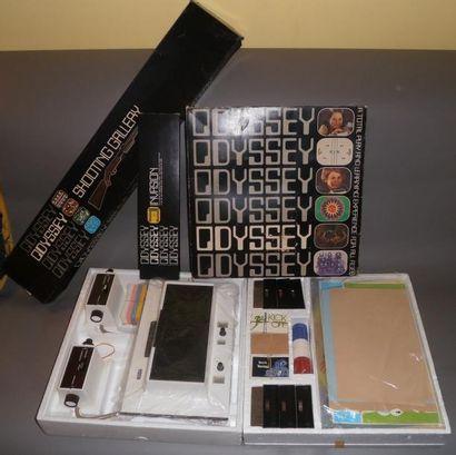 Console Magnavox Odyssey (USA), version originale...