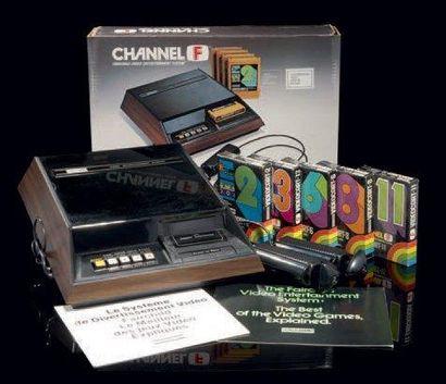 Console Channel-F - version Secam français...