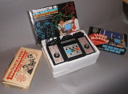 Lot de 3 Consoles Videomaster: Olympic TV...