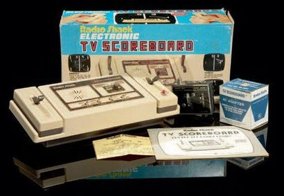 Console RADIO SHACK TV Scoreboard 4 jeux...