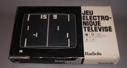 Jeu électronique télévisé RADIOLA T.02 -...