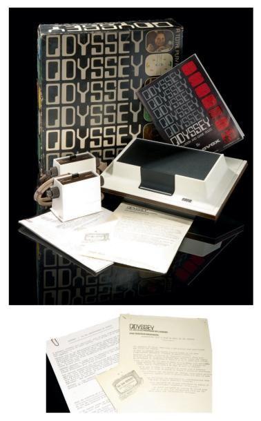 Console Magnavox Odyssey (USA), version import...