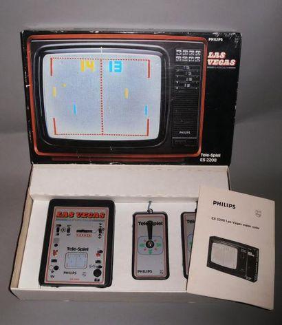 PONG Philips Tele-spiel Las Vegas Supercolor...