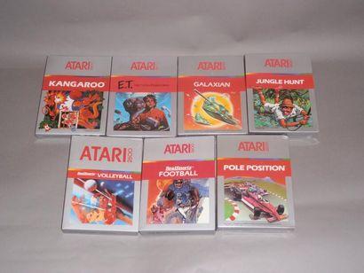 Lot de 7 jeux neufs «boites red/silver» pour...