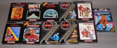 Lot de 11 jeux Telegames pour Atari 2600...