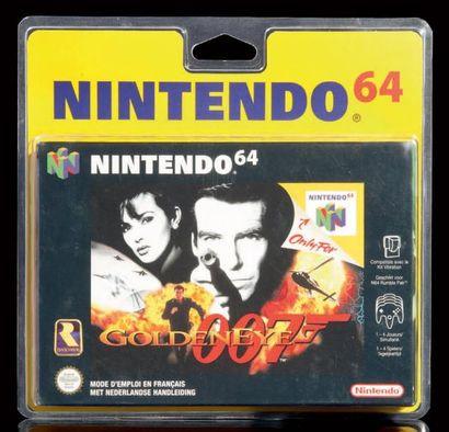 Goldeneye 007 pour Nintendo 64 - version PAL FR Sortie le 25 Août 1997 Strictement...