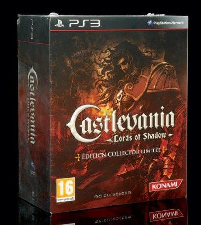 Castlevania Lords of Shadow pour SONY Playstation 3 édition collector limitée française...