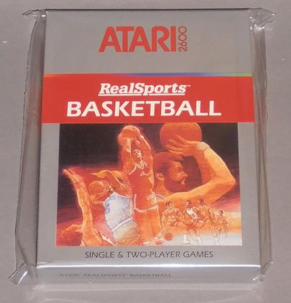 RealSports Basketball pour Atari 2600, à...